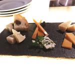 ル サロン 2100 - チーズ盛り合わせ