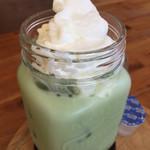 カフェ リン - 抹茶ミルクティーのアイス