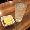 あらき酒店 - 料理写真:チューハイレモン220円&玉子豆腐130円