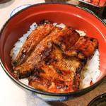 うなぎの末よし - 料理写真:鰻丼松