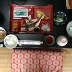 ギフヤ旅館 - 料理写真:旅館の朝食っていいものよの。普段日常のディナーとしてこういうの食べたい。
