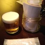 アスタルエゴ - 360mlあるはずの生ビール