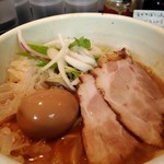 70733749 - 味玉鶏白湯らーめん(醤油)
