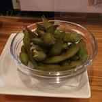 イタリアバールPOLPOII - 枝豆の燻製(480円)
