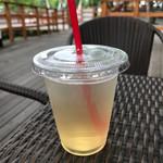 ハンモックカフェ - レモン&マンダリンティー ICE