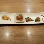 円居 - 前菜の盛り合わせ
