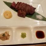 円居 - サーロインステーキ