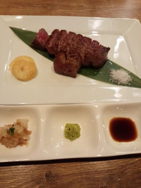 円居 川崎 - サーロインステーキ