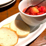 Vittorio Pomodoro Tsukiji - お通しのトマト