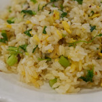 枸杞の実 - パクチーとアサリの炒飯