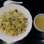 70738387 - パクチーとアサリの炒飯
