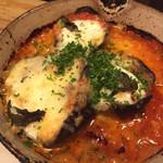 馬車にのったモッツァレッラ - ナスとトマトのグリル