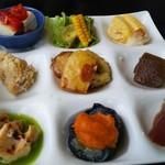 和 Ann あん藤 - おまかせランチの料理