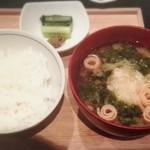 レストラン酢重正之 - 「銅釜炊きごはんセット」¥820税抜