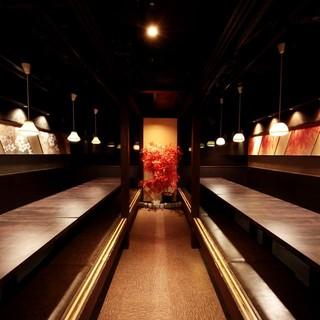 日本酒や銘柄焼酎も豊富にご用意♪今宵はゆったり寛ぎ個室で…♪