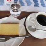 エル・グレコ - コーヒーとカステイラ。