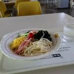 札幌市役所本庁舎食堂 - 夏季限定冷やしラーメン550円