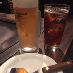 じゃけん - 生ビール&ウーロン茶