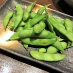 70742588 - 茹で立て枝豆
