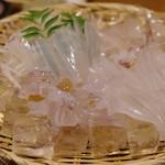 田吾作 - 料理写真:イカ刺し