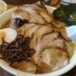 ラーメン山村 - 塩チャーシューメンです☆ 2017-0727訪問