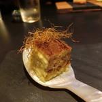 TAKAZAWA - 毛ガニとトウモロコシのミルフィーユ