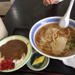 ふくし食堂 - カレーセット