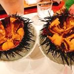鮨芳 - 殻付きウニ