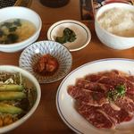 カルビ屋大福  - 料理写真:カルビ定食