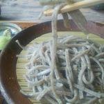 そば蔵 谷川 - これ蕎麦なのって感じの短さ(;^_^