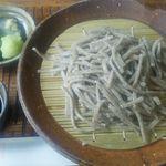 そば蔵 谷川 - 料理写真:もりそば(手挽き太打)900円(税込)