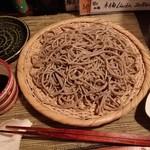 酒縁蕎亭 渉の盃 - 「超田舎蕎麦(極粗挽き)」