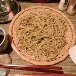 酒縁蕎亭 渉の盃 - 「生青唐辛子蕎麦」