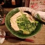 酒縁蕎亭 渉の盃 - 「かけ蕎麦(玉子とじ)」