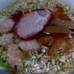ウミガメ食堂 - ワンタン麺