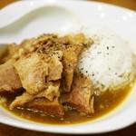 雅知 - 料理写真:肉たっぷりスープカレーごはん¥300