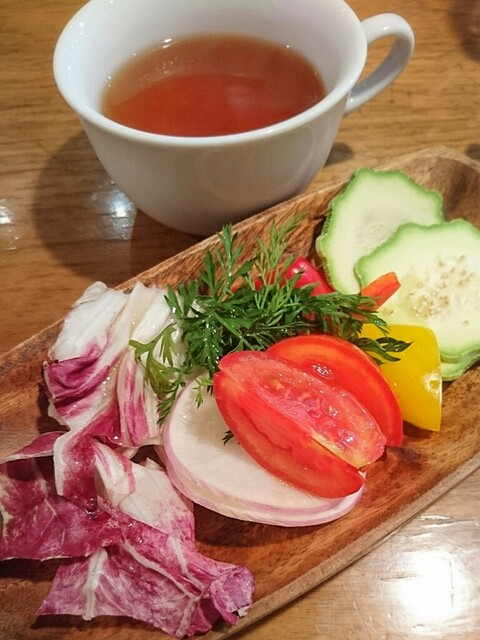 BiOcafe - サラダ おかわり♩ハーブティも♡