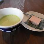 ととの台所 - 抹茶と小豆のムース