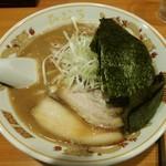 北海道らぁ麺 ひむろ - 旭川醤油らぁ麺 + のり