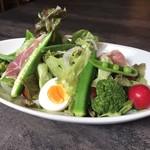 レストランパトリー - 《ランチ》野菜好きの日替わりサラダ