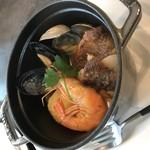 レストランパトリー - 《ランチ》リゾット付き!ブイヤベース
