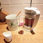 KITERU nishiazabu - パスタランチ 1170円 のコーヒー