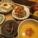 山介 - 前菜盛り合わせ