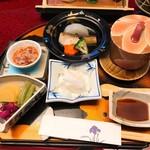 湯の花亭 - 料理写真:前頭