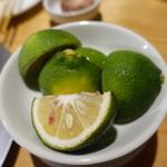 焼肉ホルモンブンゴ - タンのかぼす