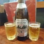 ええとこ - もう一本瓶ビール!ビールがばかり飲みました!