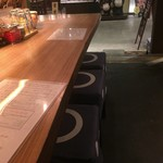 日本酒×炭火焼き ルンゴ - カウンター席
