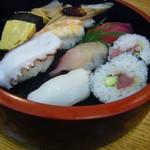 道楽寿し - 上握り寿司C