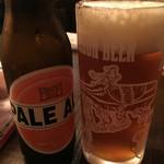 焼鳥こにし - 箕面ビール ペールエール