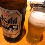 魚吟酒場 - 瓶ビール